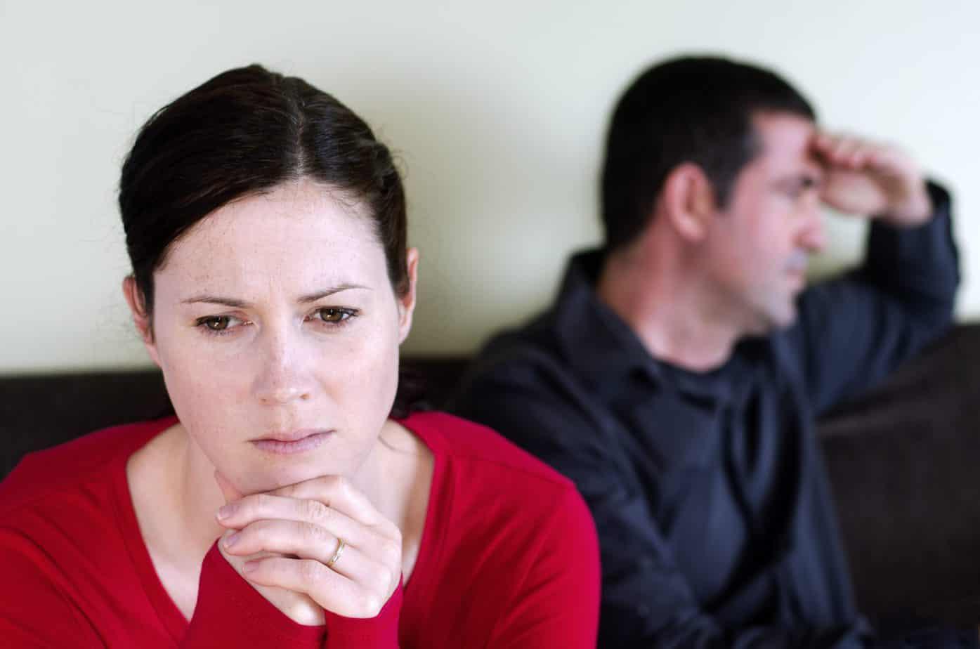 חוסר יחס מבן הזוג
